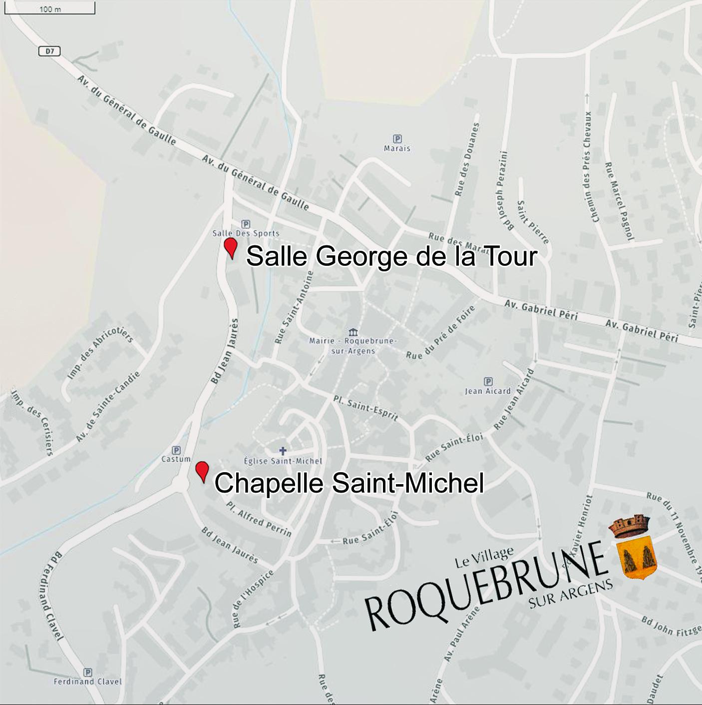 Plan Chapelle Saint Michel